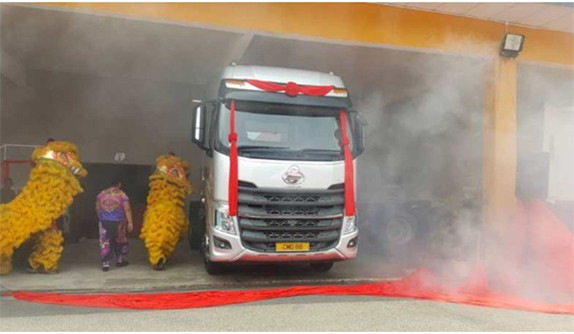 Un buen camión: Chenglong H7 aterrizó oficialmente en el mercado malayo.