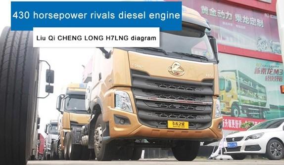 430 horsepower rivals diesel engine  Liu Qi CHENG LONG H7LNG diagram